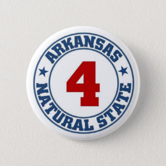 Arkansas State 2 Inch Round Button