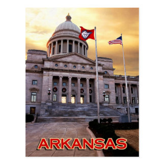 Arkansas State Capitol Building, Little Rock, AR Postcard