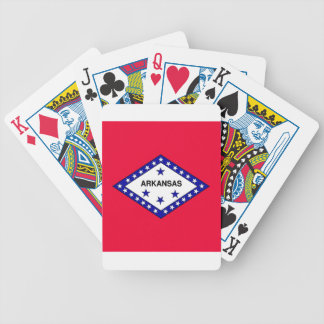 Arkansas State Flag Bicycle Playing Cards