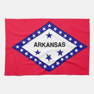 Arkansas State Flag Towel