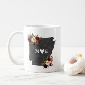 Arkansas State Rustic Country Wedding Monogram Coffee Mug
