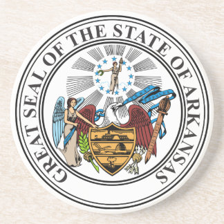 Arkansas State Seal Coaster