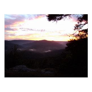 Arkansas Sunset Postcard