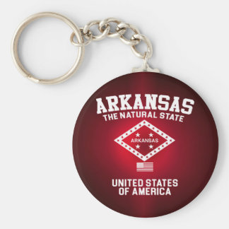 Arkansas The Natural State Keychain