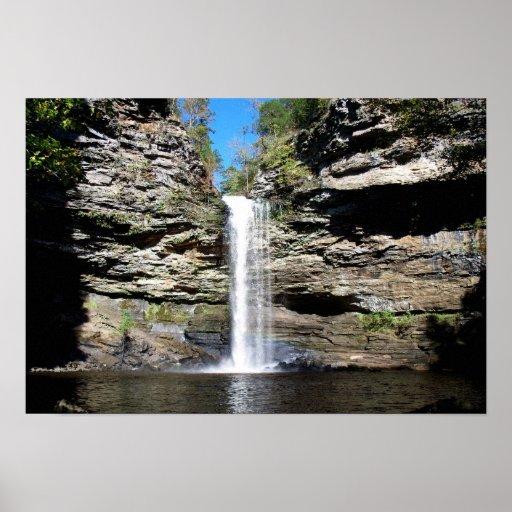 Arkansas Waterfall Poster