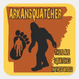 Arkansquatcher Square Sticker