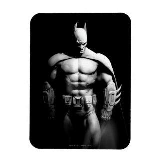Arkham City | Batman Black and White Wide Pose Magnet