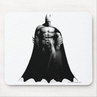 Arkham City   Batman Black and White Wide Pose Mouse Pad