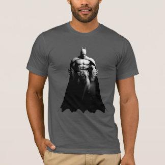 Arkham City | Batman Black and White Wide Pose T-Shirt