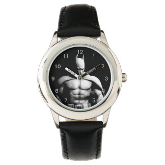 Arkham City | Batman Black and White Wide Pose Watch