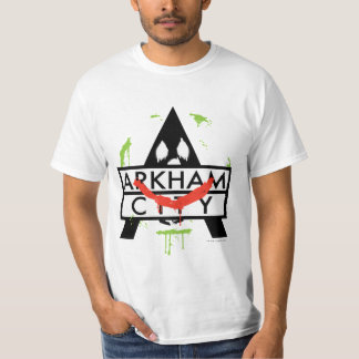 Arkham City Icon w/ Joker marks 2 T-Shirt