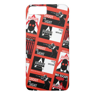 Arkham City Propaganda Pattern iPhone 7 Plus Case