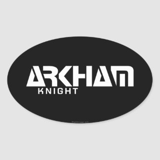 Arkham Knight Graphic Oval Sticker
