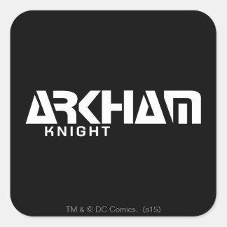Arkham Knight Graphic Square Sticker