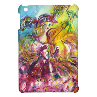 ARLECCHINA  VIOLINIST / Venetian Carnival Night iPad Mini Cover
