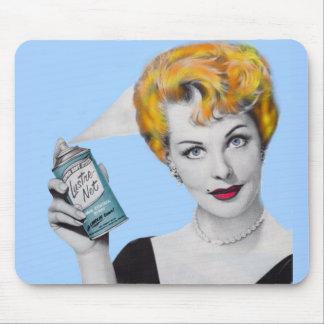 Arlene Dahl in 'Death by Hair Spray' Mouse Pad