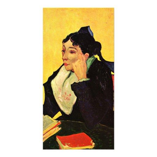 Arlesienne by Vincent van Gogh Custom Photo Card