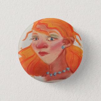 Arlette 1 Inch Round Button