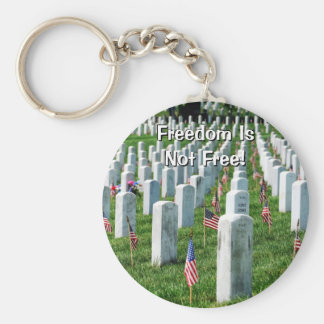 Arlington Cemetery Basic Round Button Keychain