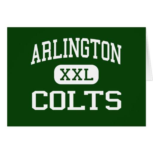 Arlington - Colts - High School - Arlington Texas Cards