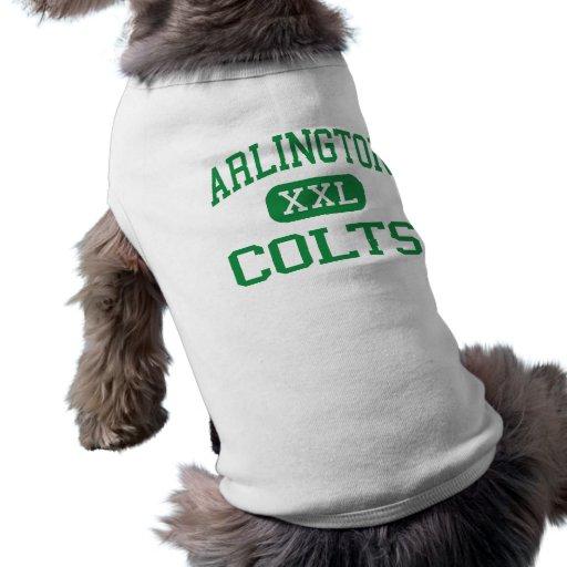 Arlington - Colts - High School - Arlington Texas Pet T-shirt