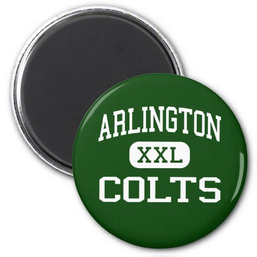 Arlington - Colts - High School - Arlington Texas Fridge Magnet