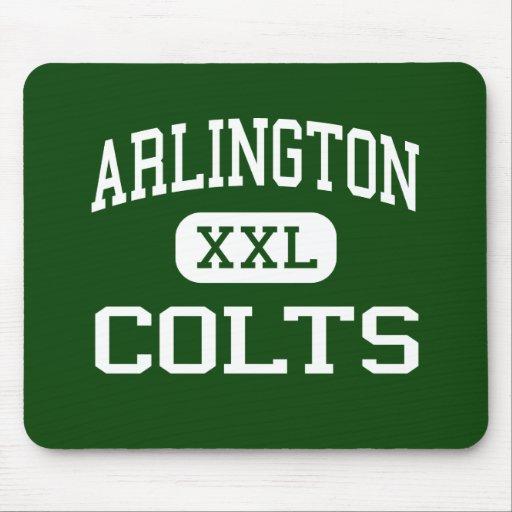 Arlington - Colts - High School - Arlington Texas Mouse Pads