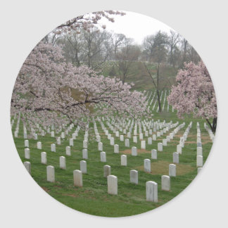 Arlington National Cemetery Classic Round Sticker