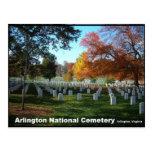 Arlington National Cemetery in Autumn Postcard