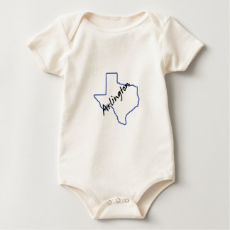 Arlington Texas Baby Bodysuit
