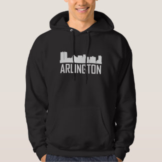 Arlington Texas City Skyline Hoodie