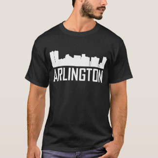 Arlington Texas City Skyline T-Shirt