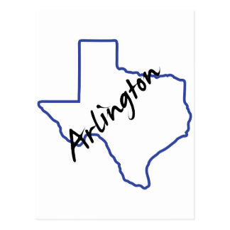 Arlington Texas Postcard