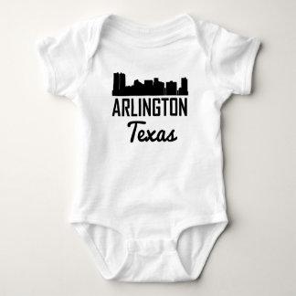 Arlington Texas Skyline Baby Bodysuit