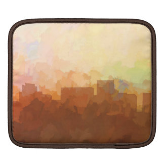 ARLINGTON, TEXAS SKYLINE - In the Clouds iPad Sleeves