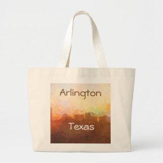ARLINGTON, TEXAS SKYLINE - In the Clouds Jumbo Tote Bag