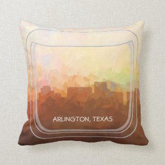 ARLINGTON, TEXAS SKYLINE - In the Clouds Pillow