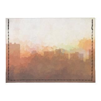 ARLINGTON, TEXAS SKYLINE - In the Clouds Tyvek® Card Wallet