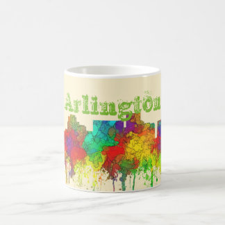 Arlington Texas Skyline-SG Classic White Coffee Mug