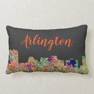 Arlington Texas Skyline SG-Faded Glory Lumbar Pillow