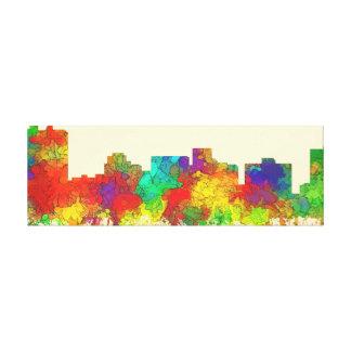 Arlington Texas Skyline-SG Gallery Wrapped Canvas