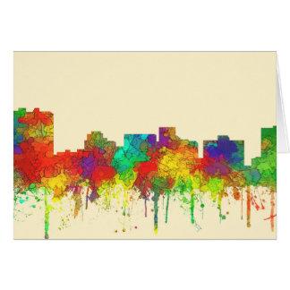 Arlington Texas Skyline-SG Greeting Card
