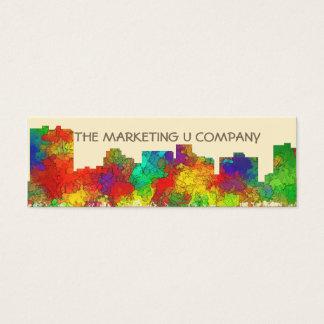 Arlington Texas Skyline-SG Mini Business Card