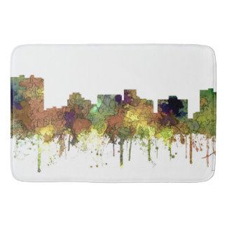 ARLINGTON TEXAS SKYLINE SG - Safari Buff - Bath Mat