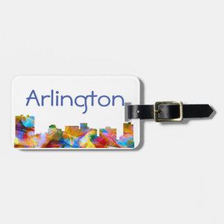 ARLINGTON TEXAS SKYLINE VIBRANCE - BAG TAG