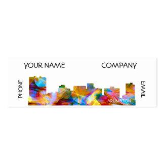 ARLINGTON TEXAS SKYLINE VIBRANCE - MINI BUSINESS CARD