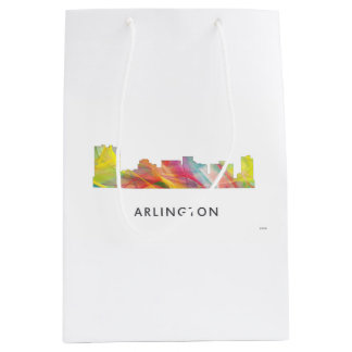 ARLINGTON TEXAS SKYLINE WB1 - MEDIUM GIFT BAG