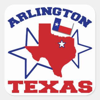 Arlington, Texas Square Sticker