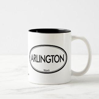 Arlington, Texas Two-Tone Coffee Mug