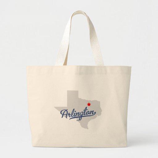 Arlington Texas TX Shirt Bag